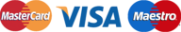 Mastercard - Visa - Maestro